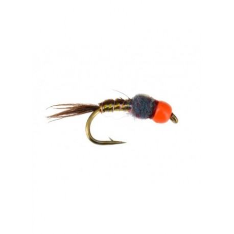 Deer Hair Bass Bug Black Yellow - Tying Fly Fishing Flies Kenya