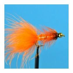 Bead Head Woolly Bugger   Orange