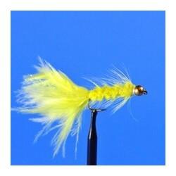 Bead Head Woolly Bugger   Yellow